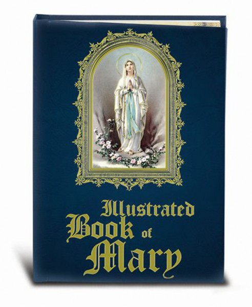 Illustrated Book of Mary Prayers and Legacy - Blue
