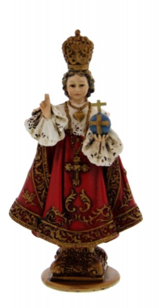 "Infant of Prague Statue 4"" - Red"