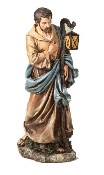 "Joseph Statue - 38"" H - Multi-Color"