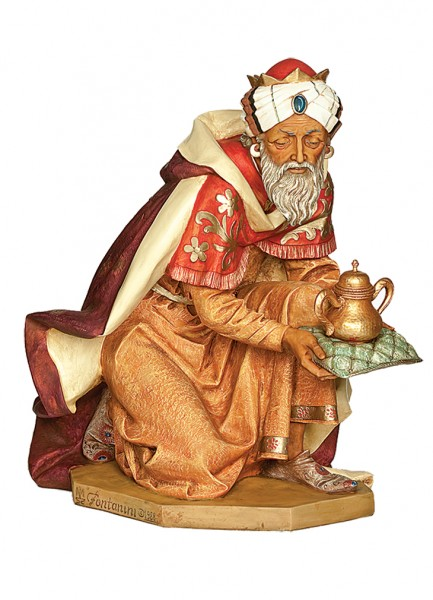 King Gasper Figure for 50 inch Nativity Set - Multi-Color