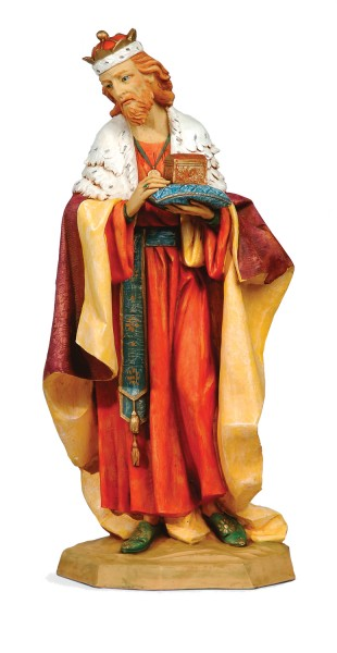 King Melchior Figure for 27 inch Nativity Set - Multi-Color