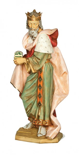 King Melchior Figure for 50 inch Nativity Set - Multi-Color
