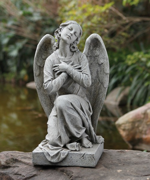 i and large angel size of my concrete tree garden gardenia u camera statues