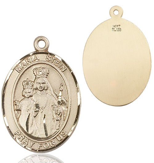 Maria Stein Medal - 14K Yellow Gold