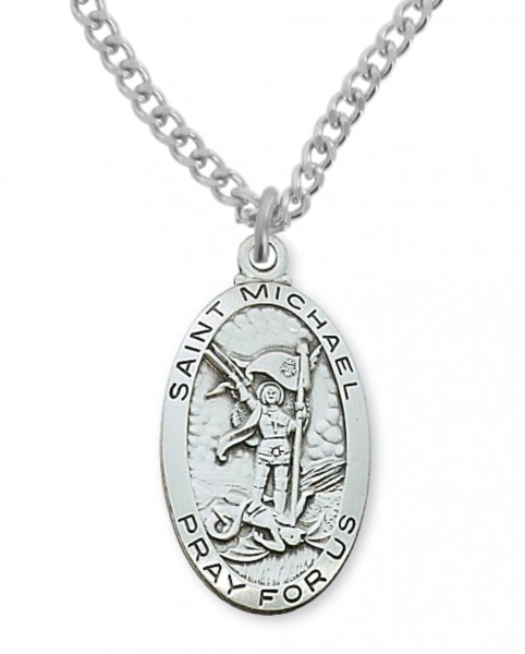 Men's St. Michael Medal - Silver