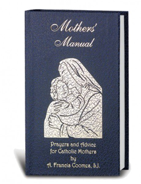 Mother's Manual Deluxe Hardbound Cover - Blue