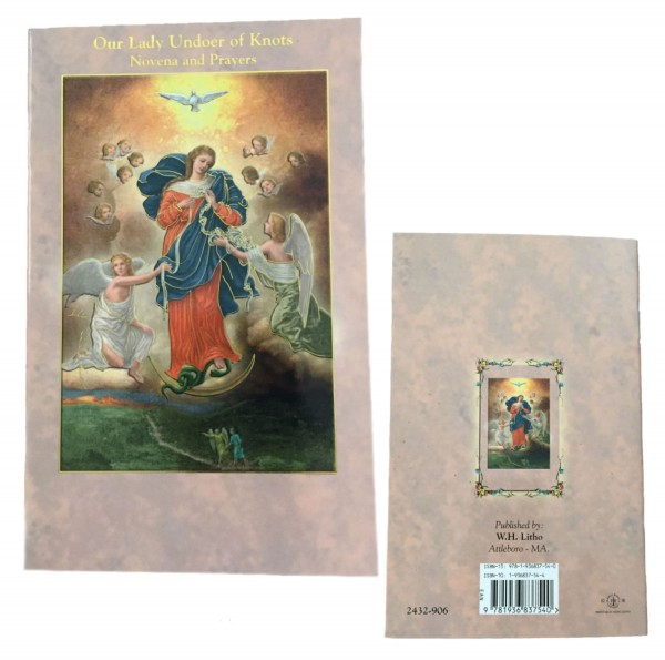 Our Lady Undoer of Knots Novena Book - Pack of 10 - Full Color