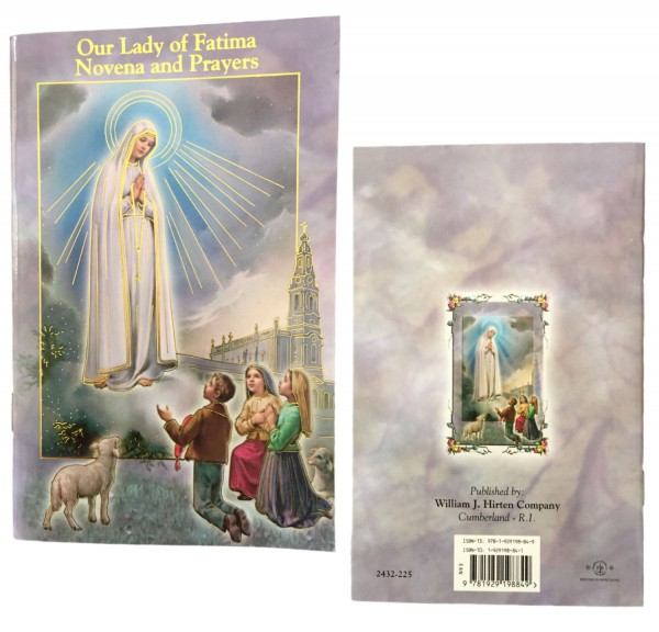 Our Lady of Fatima Novena Prayer Pamphlet - Pack of 10 - Full Color