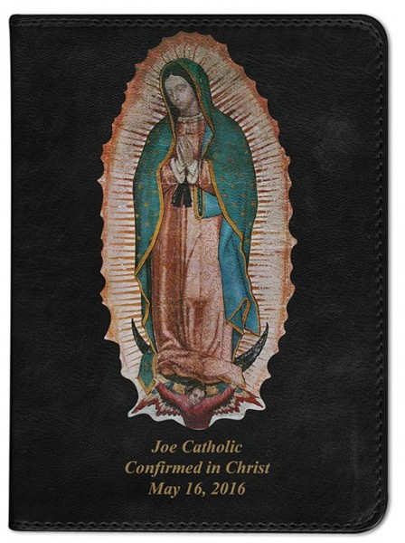 Our Lady of Guadalupe Catholic Bible - Black