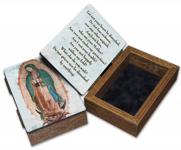 Our Lady of Guadalupe Keepsake Box - Full Color