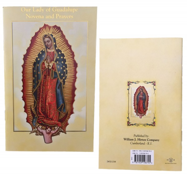 Our Lady of Guadalupe Novena Prayer Pamphlet - Pack of 10 - Full Color
