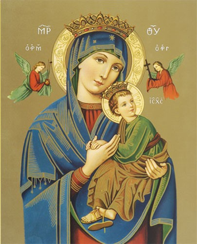 Our Lady of Perpetual Help Print - Sold in 3 per pack - Multi-Color