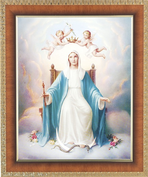 Queen of Heaven Framed Print - #122 Frame