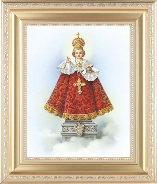 Infant of Prague Framed Print - #138 Frame