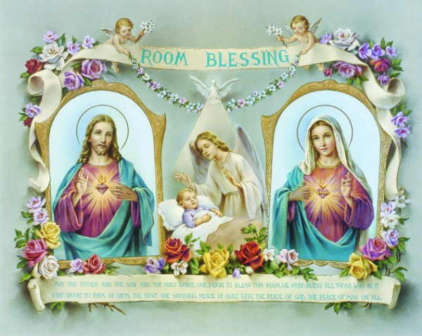 Baby Room Blessing Print - Sold in 3 per pack - Multi-Color