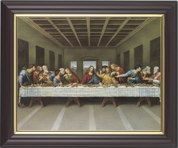 Last Supper Framed Print - #133 Frame