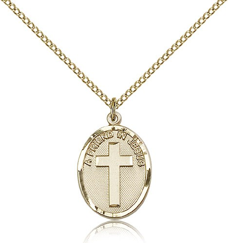A Friend In Jesus Pendant - 14KT Gold Filled