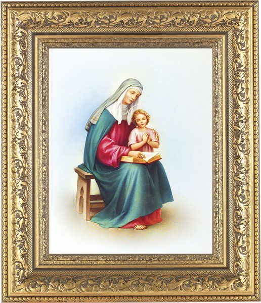 St. Anne and Mary Framed Print - #115 Frame