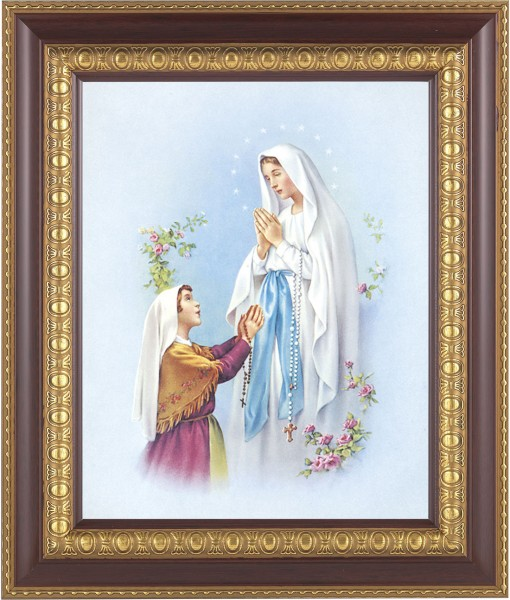 Our Lady of Fatima Framed Print - #126 Frame