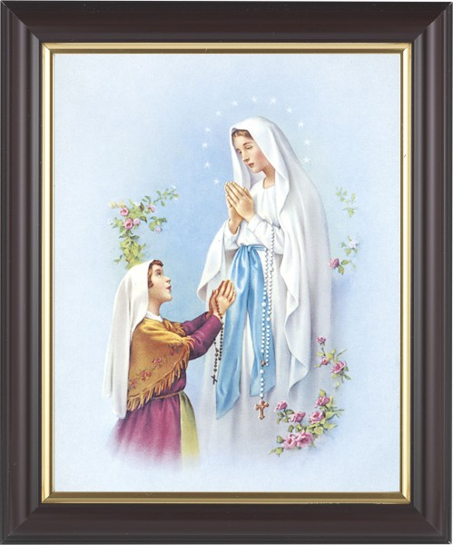 Our Lady of Fatima Framed Print - #133 Frame