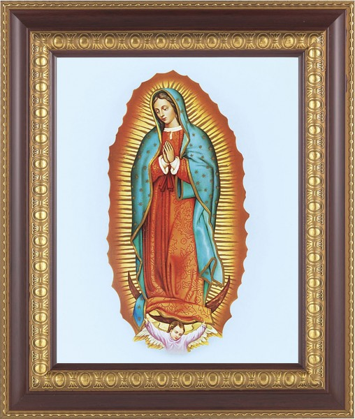 126 Frame Our Lady Of Guadalupe Framed Print