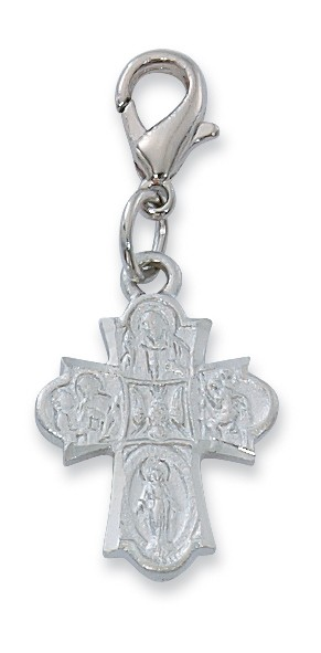 4-Way Clipable Charm - Silver