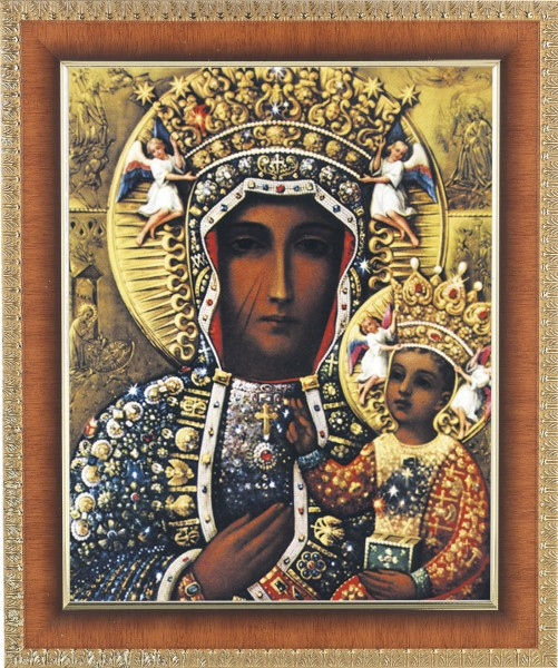 Our Lady of Czestochowa Framed Print - #122 Frame