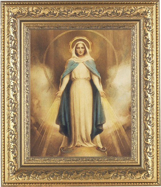 Miraculous Mary Framed Print - #115 Frame