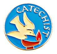 Catechist Lapel Pin - Blue | Gold