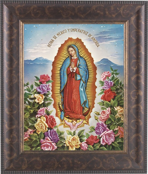 Our Lady of Guadalupe Framed Print - #124 Frame