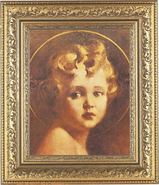 Christ Child Framed Print - #115 Frame
