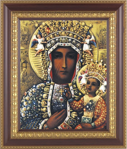 Our Lady of Czestochowa Framed Print - #126 Frame