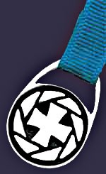 Cross Bookmark - Silver