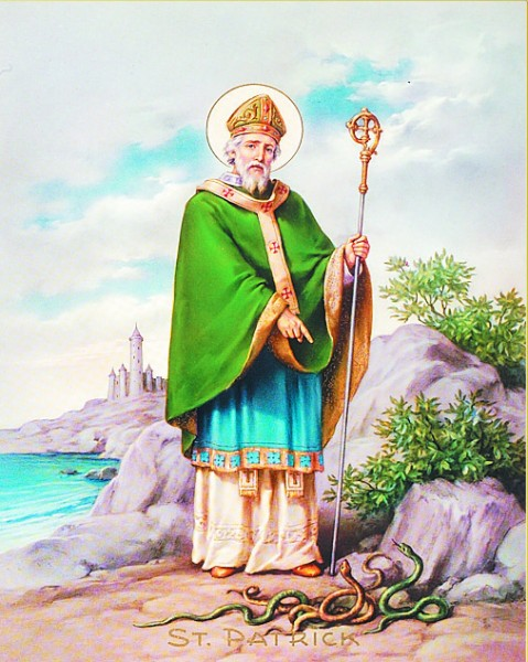 St. Patrick Print - Sold in 3 per pack - Multi-Color