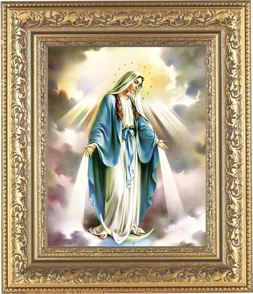 Our Lady of Grace Framed Print - #115 Frame