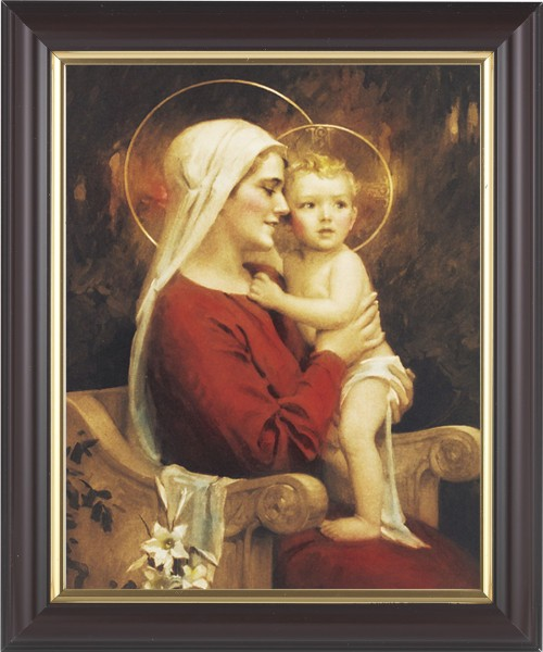 Madonna and Child Full of Joy Framed Print - #133 Frame