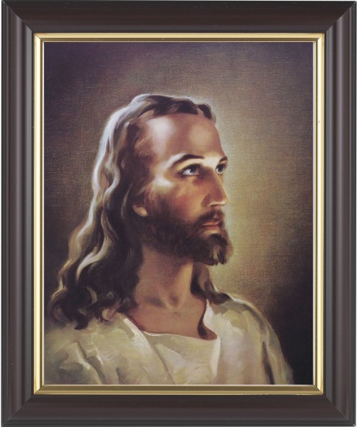 Portrait of Christ Framed Print - #133 Frame