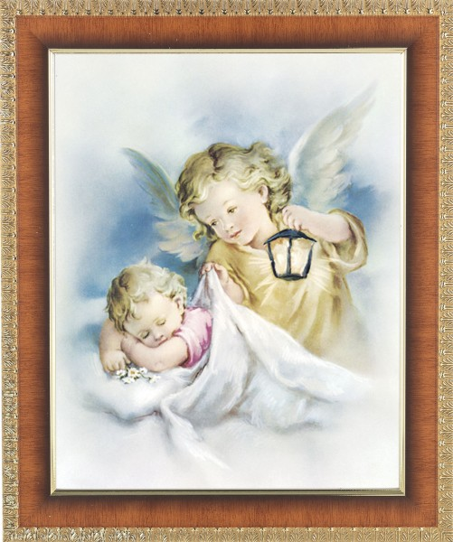 Guardian Angel Watching Over Me Framed Print - #122 Frame