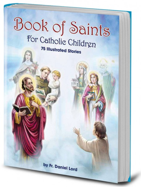 Book of Saints for Catholic Children - Full Color