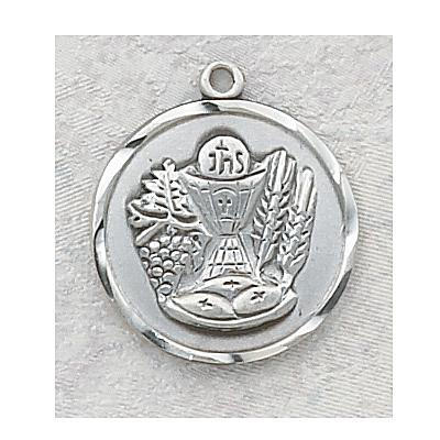 First Communion Chalice Pendant - Silver