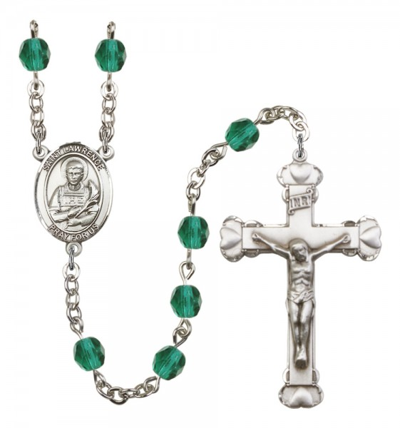 Women's St. Lawrence Birthstone Rosary - Zircon