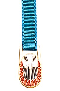 Alive in the Spirit Bookmark - 12 Ribbon Colors Available - Aqua