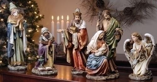 Resin Nativity Set 16 Inch From Catholic Faith Store 16