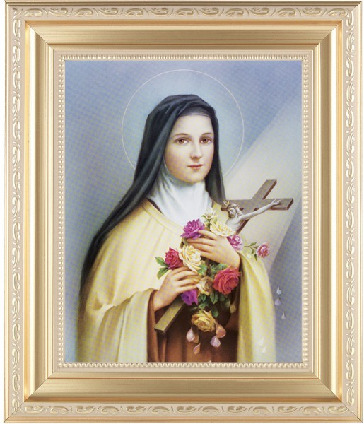 St. Therese Framed Print - #138 Frame