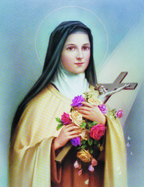 St. Therese Print - Sold in 3 per pack - Multi-Color