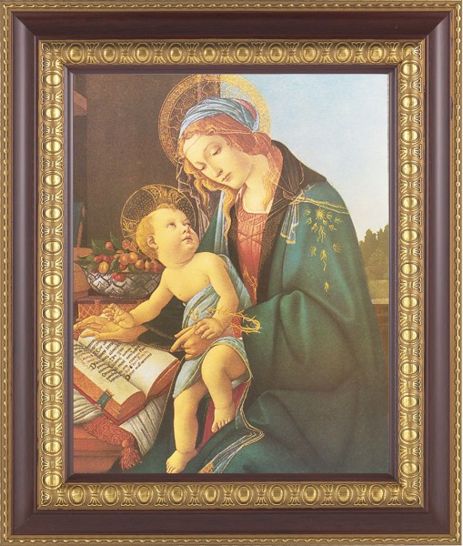 Madonna and Child renaissance Framed Print - #126 Frame