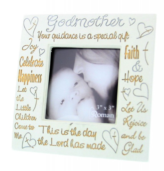 Godmother Photo Frame - Ivory