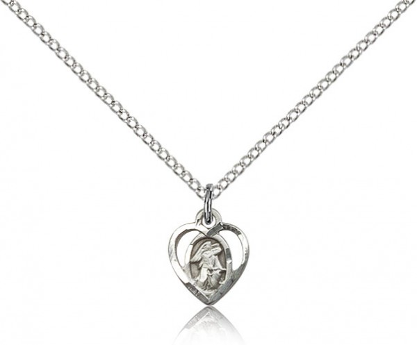 Guardian Angel Medal - Sterling Silver