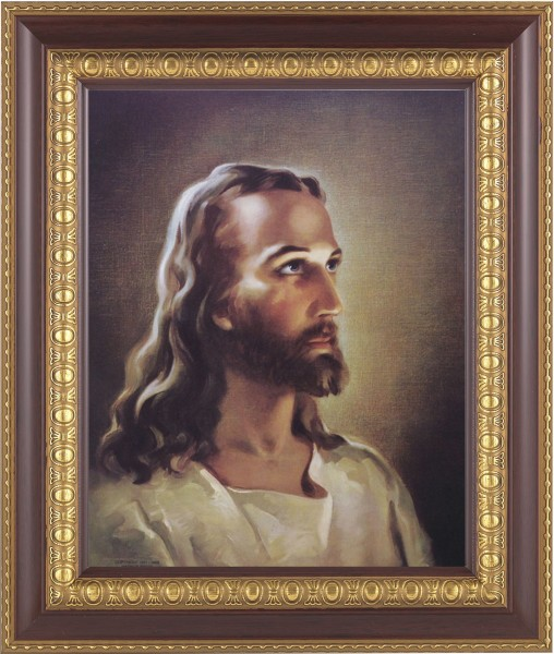 Portrait of Christ Framed Print - #126 Frame