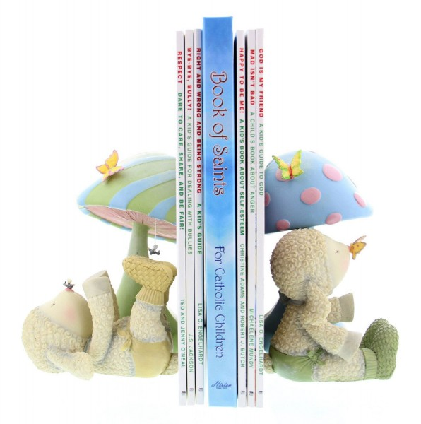 Lamb Bookends - Multi-Color